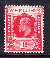 FIJI 1906 EdVII SG119 1d red - wmk Multiple Crown CA - unmounted mint. Cat £23