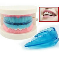 2Pcs Silicone Soft + Hard Orthodontic Retainer Teeth Corrector Straightening cn6