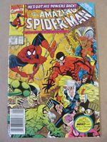 Amazing Spider-Man #343 Marvel 1963 Series Black Cat app Newsstand 9.2 NM-