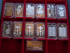 13 Sehr schöne Silberunze