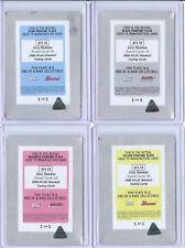 Cory Rasmus Bowman Chrome AFLAC 1/1 Printing Plate Set One of One Monopoly Rare