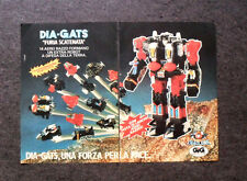 K810-Advertising Pubblicità-1982- DIA-GATZ FURIA SCATENATA