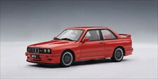 1990 BMW M3 SPORT EVOLUTION RED 1/43 DIECAST MODEL CAR BY AUTOART 50561