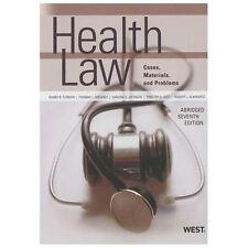 Health Law (American Casebook Series)(Abridged) by Furrow, Barry, Greaney, Thom