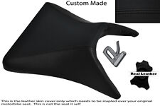 BLACK STITCH 03-04 CUSTOM FITS KAWASAKI NINJA ZX6R FRONT SEAT COVER