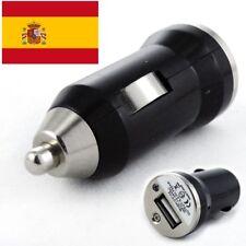 Mini Cargador Adaptador USB Coche Mechero MP3 MP4 IPHONE PDA SMARTPHONE GPS