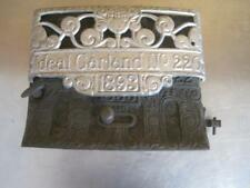 1893 IDEAL CARLAND 220 CAST IRON DOOR PLATE I G 22 82 II POT BELLY RARE ANTIQUE