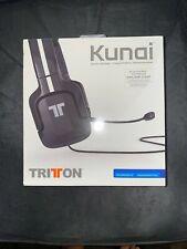 NEW Tritton Kunai Black Headband Headsets PLAYSTATION3 AND PLAYSTATION VITA