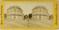 Parigi A Stereovisore Francia Foto Stereo PL55L1n Vintage Albumina c1865