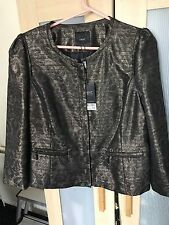 BNWT Brand New Elegant Next Gold/Bronze Jacket size 16