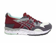 ASICS Men's GEL-LYTE V Running Shoes Carbon/Ot Red H7Q2N-9726 b