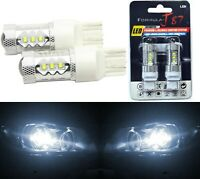 LED Light 80W 7440 White 5000K Two Bulbs Back Up Reverse Replacement Lamp