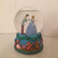 Disney Cinderella - Snow Globe -Princess 12 Days of Christmas Musical Waterball