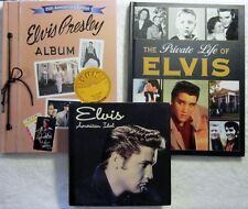 3 ELVIS HARDBACK PUBLICATIONS