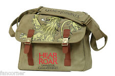 Game of thrones sacoche Officielle Lannister Hear me roar GOT canvas bag