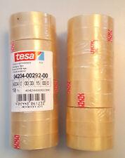 20 Rollen Tesa 4204 Tesafilm Je 33 Meter lang 15 mm breit officebox klebefilm