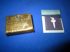C.1890 ADVERTISING WEAR SALTER'S BOOTS BOOK SHAPED VESTA CASE MATCH SAFE STRIKER