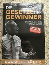 Die Gesetze der Gewinner von Bodo Schäfer | Erfolgsbuch | Neuauflage NEU!!!