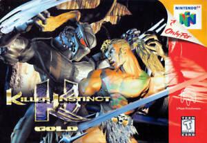 Killer Instinct Gold - Nintendo N64 Game