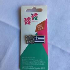 London 2012 Olympics Greece flag badge