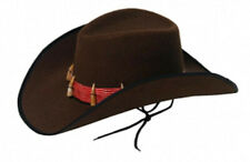 Unisex Western Cowboy Hat For Women Men Wide Brim Cowgirl Braid Leather Band New