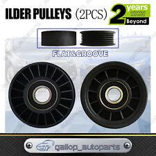 Drive Belt Idler Pulley FOR Ford Fairmont 6cyl 4.0ltr AU BA BF EF EL 1994-2002