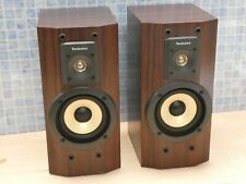 PAIR TECHNICS SB-HD560 BI-WIRE HI FI SYSTEM BOOKSHELF LOUDSPEAKERS (NO GRILLS)