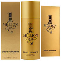 1 One Million Paco Rabanne Eau de Toilette Perfume Deodorant Spray Men 100/200ml