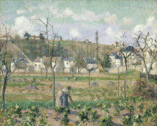 Garden Maubuisson Pontoise Mother Bellette Camille Pissarro  24'  CANVAS