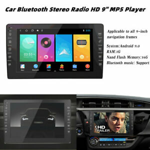 """HD 9"""" Car Stereo Radio MP5 Player Bluetooth Touch Screen GPS Android 9.0 1+16G"""