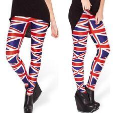 British Union Jack Flag Woman's Quality Stretchy Workout Gym Dance Yoga Leggings