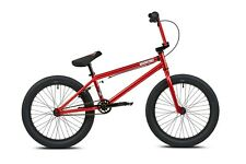 "MANKIND PLANET COMPLETE BIKE  CHROME RED 20"" BMX"