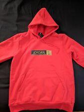 Jordan X OVO hoodie Jacket Pullover Hoody Red Drake Sz Large brand new