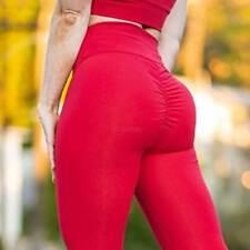 Women Anti-Celllulite Yoga Pants Leggings Butt Lift High Waist Exercise Trousers