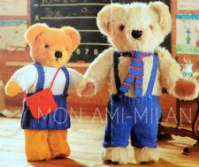 Teddy School Uniform Knitting Pattern Copy Teddy Bears Clothes Fits Build A Bear