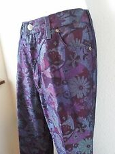 Roughrider by Circle T Floral Western Cowgirl Rodeo Jeans Sz 5/6 New W/out Tags