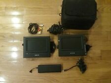 "Audiovox Dual 7"" Portable Dvd Players Pvs69701"