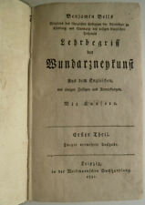 Lehrbegriff der Wundarzneykunst, Medizin, Benjamin Bells,