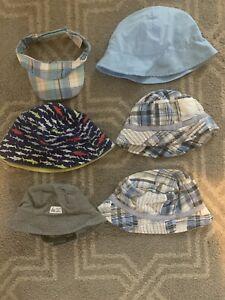 Baby Boy Sun Hat Lot