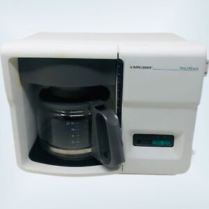 Black & Decker Spacemaker Coffee Maker ODC-150 With Carafe No Mounts Works