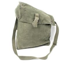 vintage military canvas bag Swedish Army M51 Gas Mask Bag. many uses !