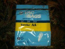 DVC Eureka AA Upright (3) Vacuum Bags New.