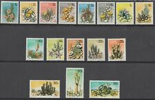 South West Africa / SWA; 1973 Succulents set 1c to 1R SG 241 - 256 MNH
