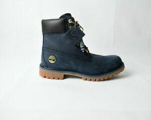 Men's Timberland Premium 6-Inch Waterproof Boots Navy