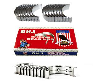 DNJ Standard Main & Rod Bearing Set for Chevrolet Gen III IV LS 4.8 5.3 6.0 6.2