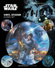 Star Wars (Classic) - VINYL STICKERS 5 PACK BY PYRAMID PS7326