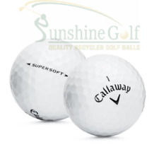 100 Near Mint Callaway Supersoft AAAA Used Golf Balls - FREE SHIPPING