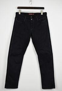 SIVIGLIA SP01LAU-9 Men's W35 L33 Slim Stretchy Leg Patches Trousers 31995-GS