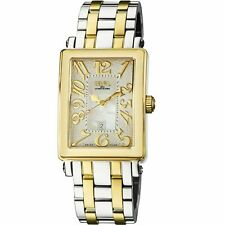 Gevril Women's 9544YB Avenue of America MOP Dial Two-Tone Stainless Steel Watch