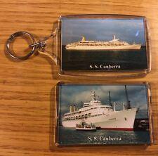 P&O Cruises CANBERRA Photo Key Ring & Fridge Magnet Set Cruise Ship Liner